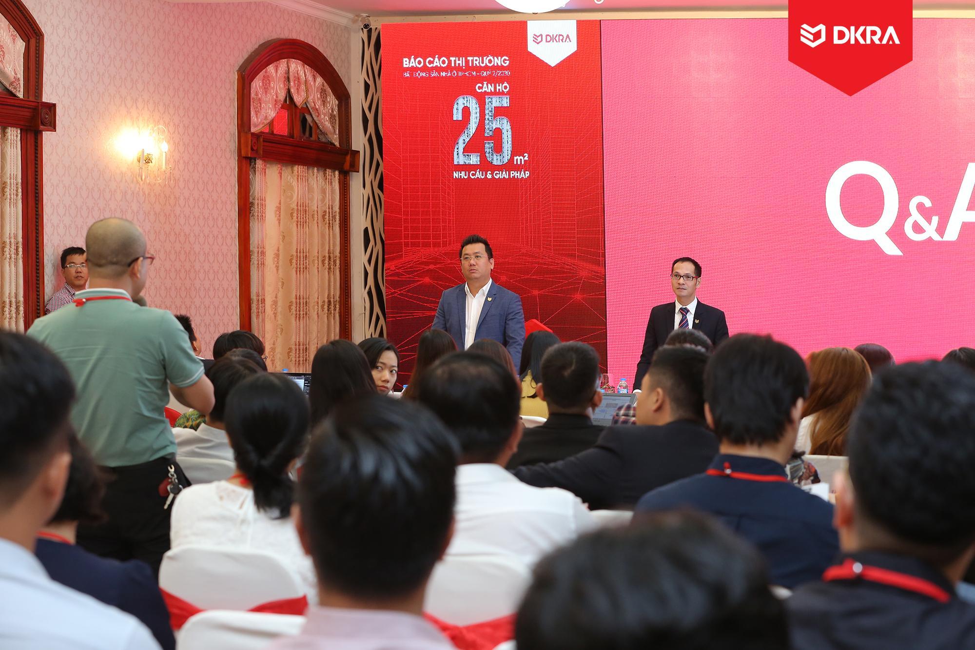 """Chủ đề """"Căn hộ 25m2 - Nhu cầu & giải pháp"""" nhận được sự quan tâm rất lớn của các khách mời tại sự kiện."""