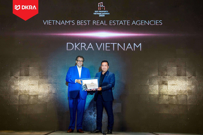 """DKRA Vietnam """"Đơn vị phân phối bất động sản tốt nhất Đông Nam Á"""" do Dot Property Vietnam Awards trao tặng 2019 và 2020"""