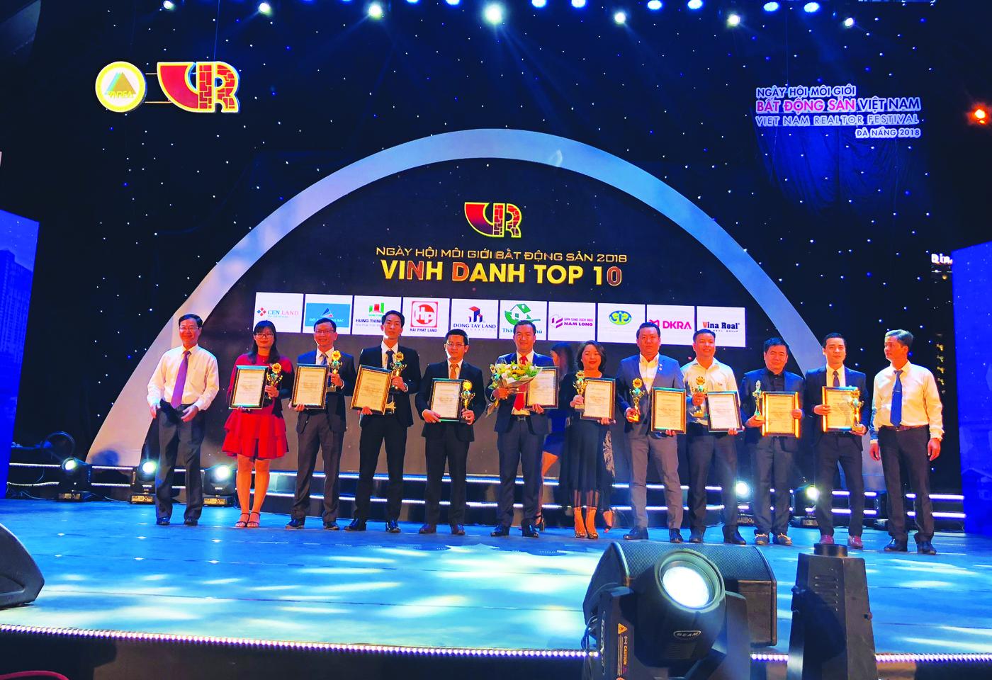 Top 10 sàn giao dịch Bất động sản xuất sắc nhất năm 2017