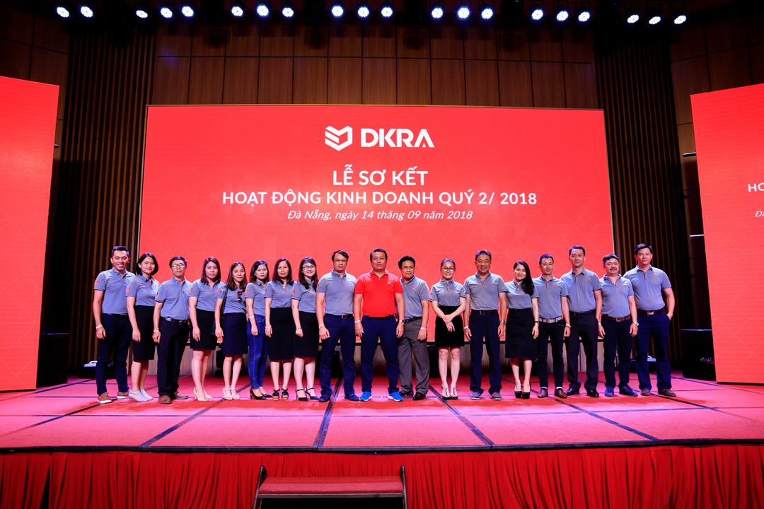 DKRA Vietnam sơ kết hoạt động kinh doanh quý 2/2018