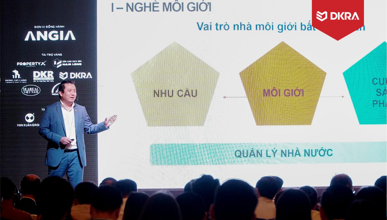 CEO DKRA VIETNAM ĐẨY MẠNH CHUYÊN NGHIỆP HÓA NGHỀ MÔI GIỚI BĐS