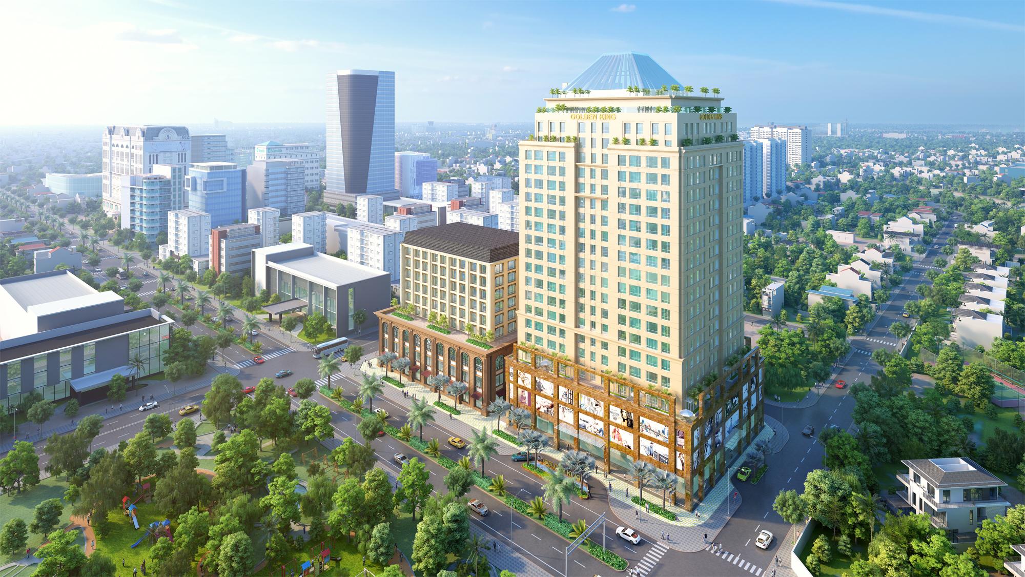 DKRA Vietnam phân phối độc quyền Khu phức hợp cao cấp Golden King