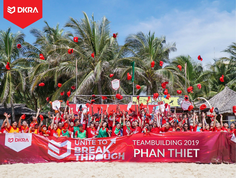 DKRA VIETNAM ĐOÀN KẾT ĐỂ BỨT PHÁ TRONG HÀNH TRÌNH TEAMBUILDING 2019