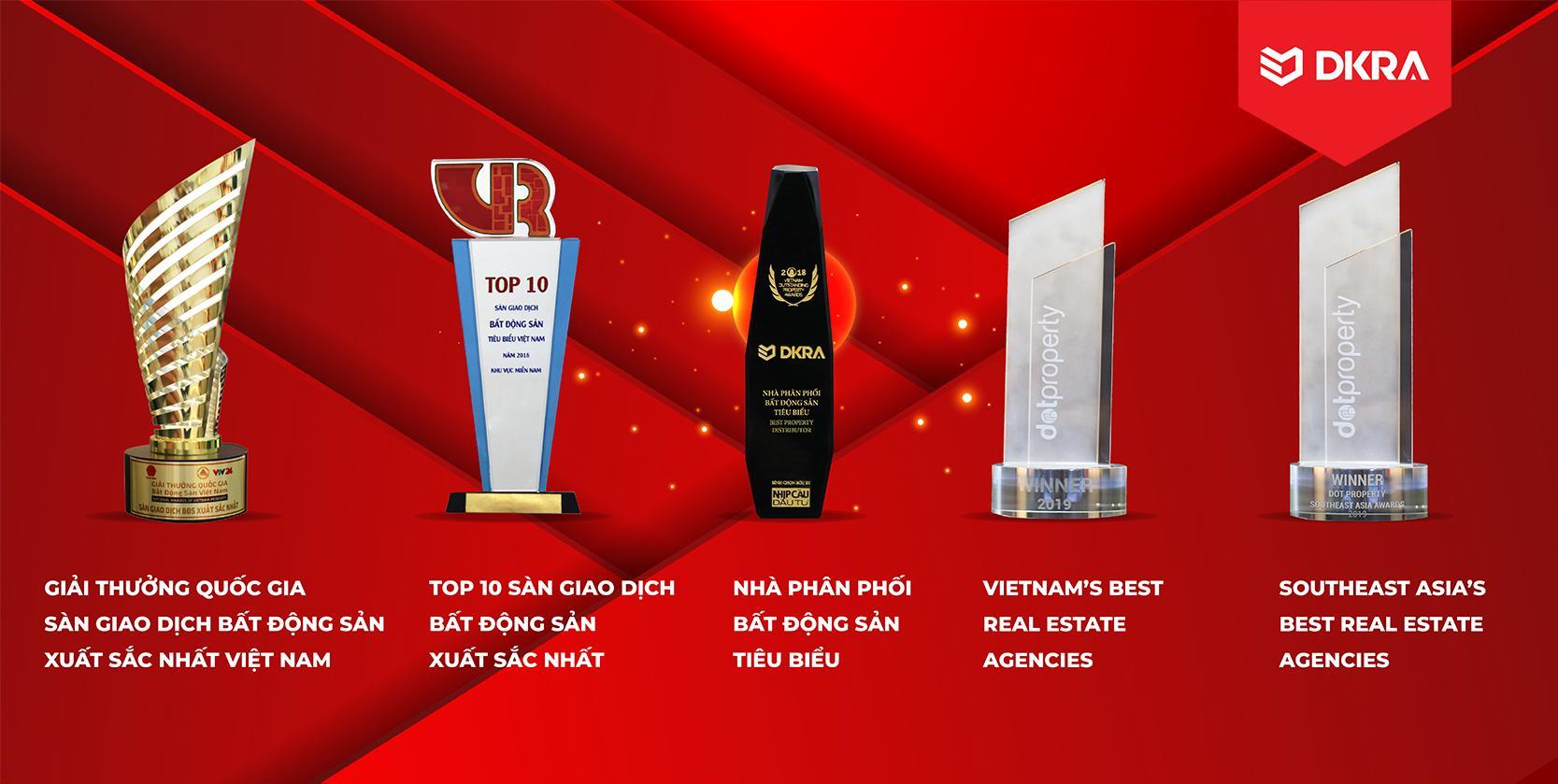 """DKRA Vietnam giữ vững danh hiệu """"Nhà Phân Phối BĐS Tiêu Biểu"""" 3 năm liên tiếp"""