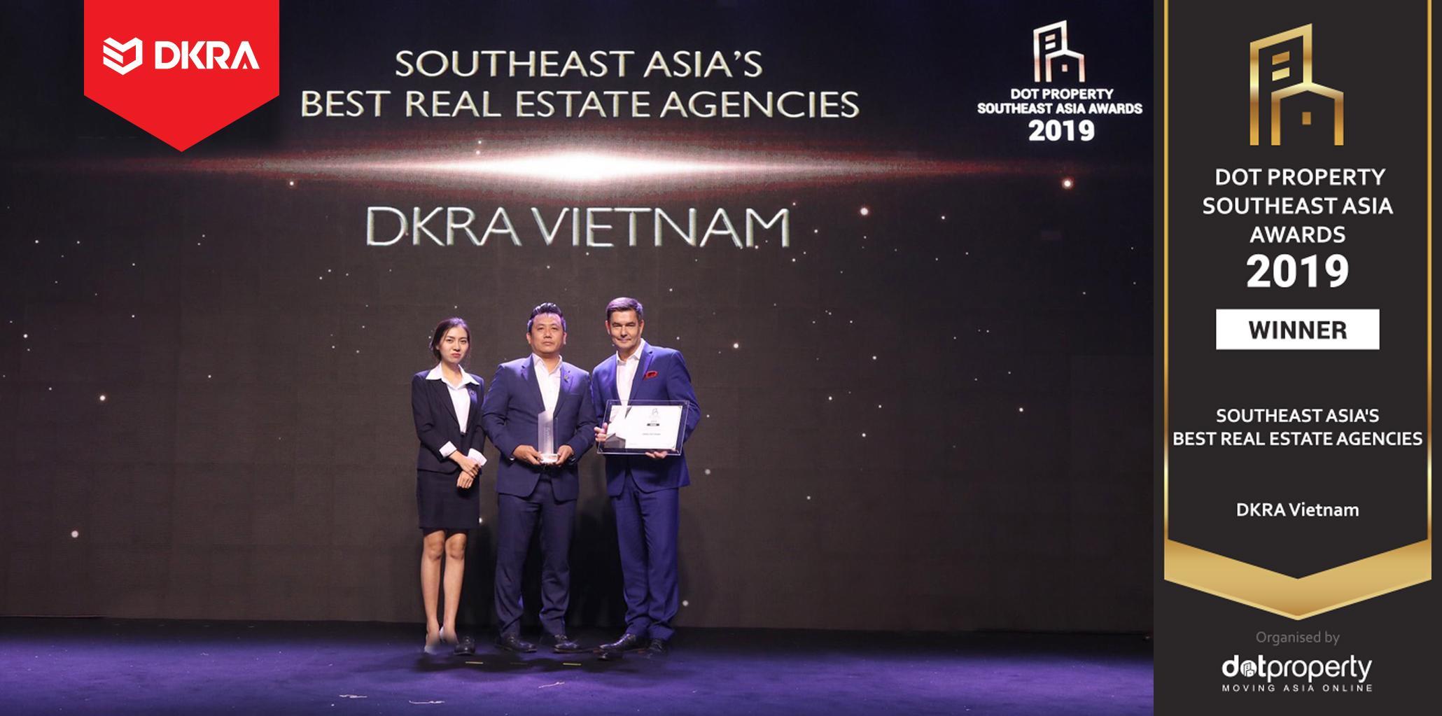 """DKRA Vietnam vươn tầm quốc tế với giải thưởng """"Nhà phân phối BĐS tốt nhất Đông Nam Á"""""""